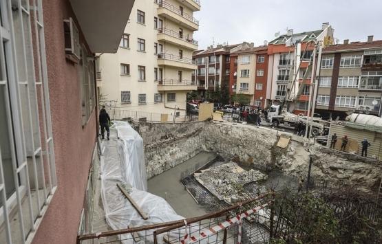 Açelya Apartmanı çevresindeki binaların yıkımı bayrama kadar tamamlanacak!