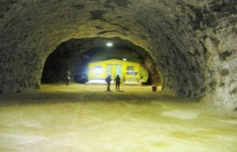 Kaya Tuz Mağarası turizme kazandırılacak!