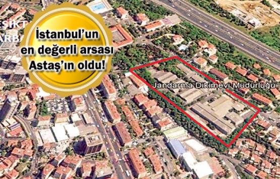 Emlak Konut Beşiktaş arsası 545 milyon TL'ye satıldı!