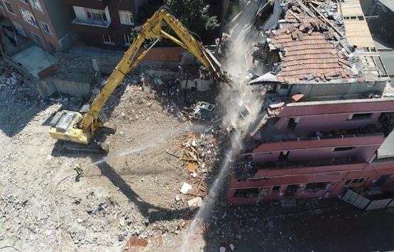 Kağıthane'de 122 çürük bina deprem gelmeden yıkıldı!
