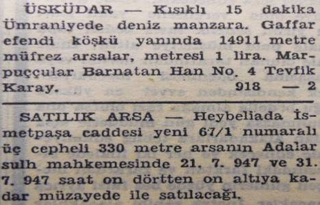 1947 yılında Ümraniye'de