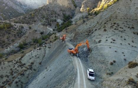 Erzurum Olur'un yolları genişletiliyor!