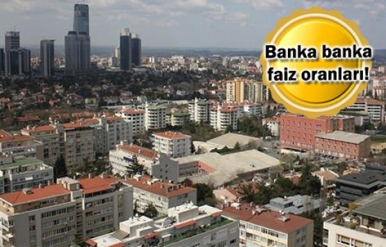 Ekim ortasında konut kredisi faiz oranlarında son durum!