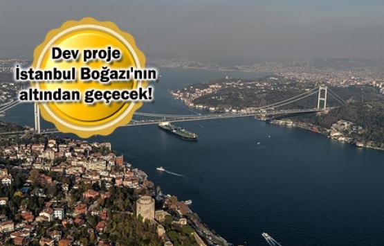 3 Katlı Büyük İstanbul Tüneli yakında başlıyor!