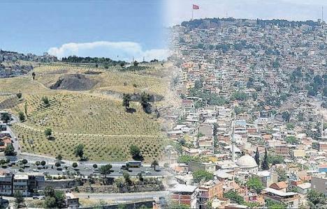 İzmir Kadifekale'de yıkılan
