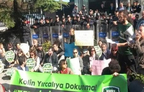 Yırca Termik Santrali projesi protesto edildi!