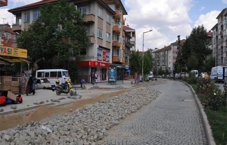 Akşehir'de alt yapı
