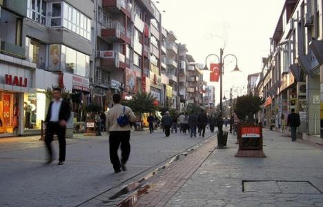 Bolu Atatürk Bulvarı'ndaki