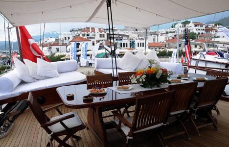 Marmaris Yacht Charter Show Fuarı'nda milyon dolarlık yatlar görücüye çıktı!