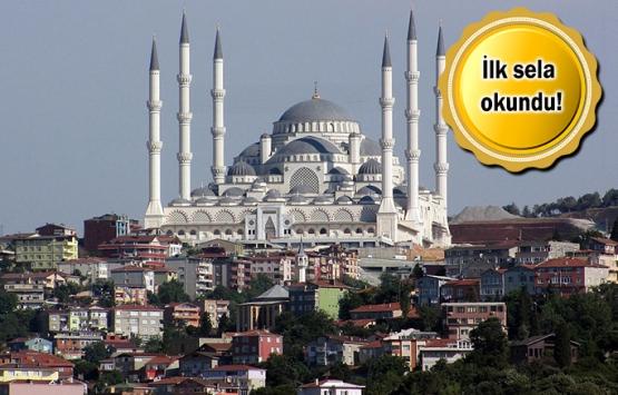 Çamlıca Camii'nin yüzde 98'i tamamlandı!