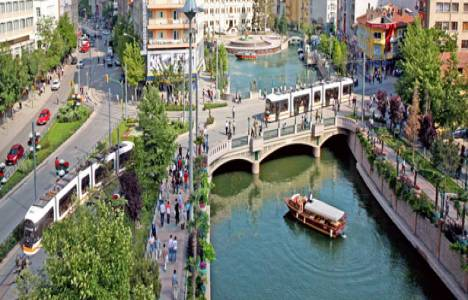 Eskişehir'de su borusu