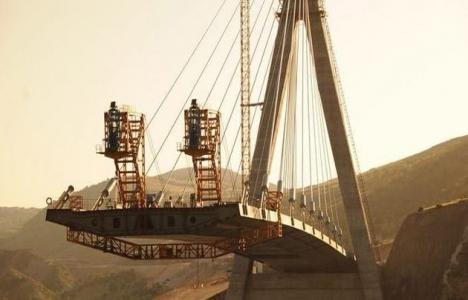 Nissibi Köprüsü'nün bitimine 6 metre kaldı!