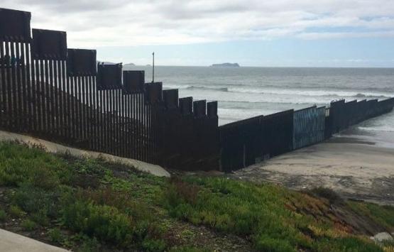 Meksika sınırı duvarı
