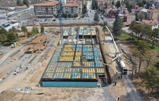 Malatya Yeşilyurt'ta belediye hizmet binası inşa ediliyor!