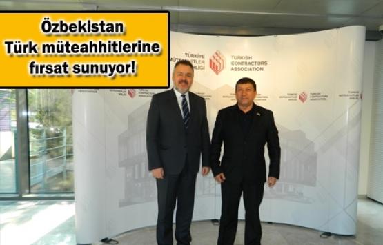 Özbekistan Türk Müteahhitlerin peşinde!