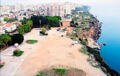 Antalya Muratpaşa'daki 3 bin 588 metrekarelik alanın ihalesi 16 Şubat'ta!