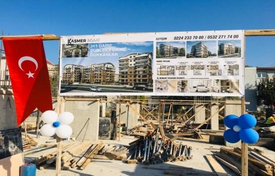 Bursa'da Kaşmer İnşaat'ın yeni projesi Millet Mahallesi'nde!