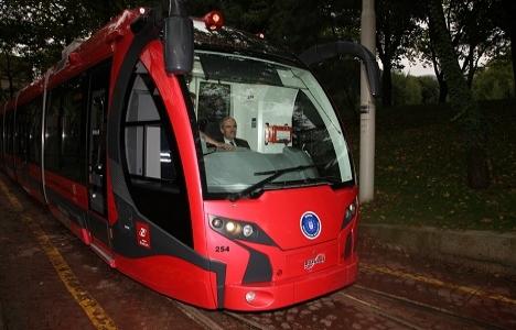 Bursa T2 tramvay hattında vagonların testleri başladı!