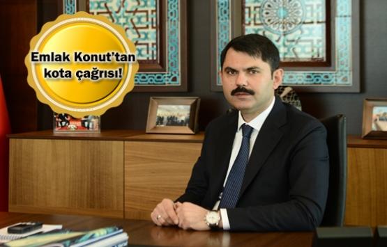 Murat Kurum: İnşaat sektörüne yeni düzenlemeler gelmeli!