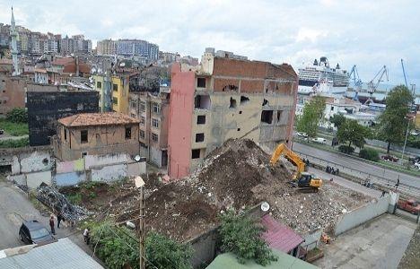 Trabzon Çömlekçi'deki kentsel