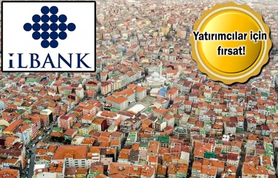 İLBANK 4 ildeki 30 arsayı satıyor!