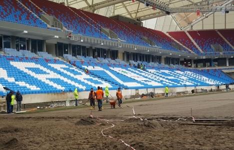 Trabzon Akyazı Stadı'nda sona doğru!