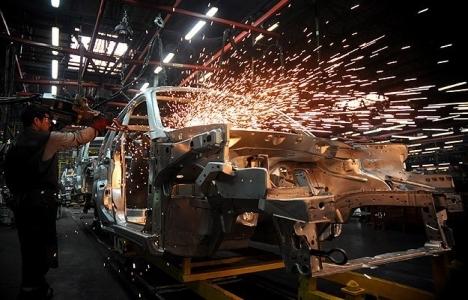 Sanayi üretim endeksi yüzde 2,4 arttı!