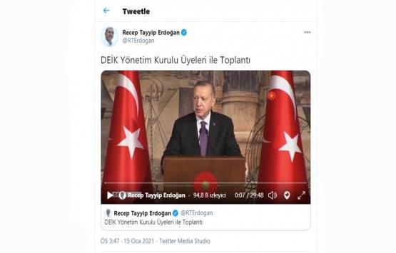 Cumhurbaşkanı Erdoğan: Yüksek faize karşıyım!