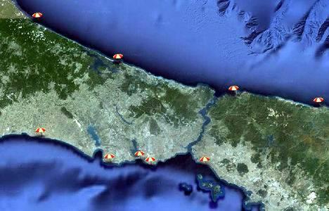 İstanbul'da nerede denize