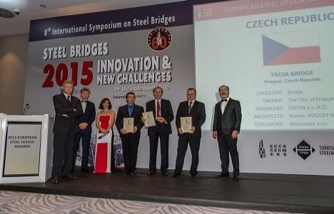 Avrupa Çelik Yapı Tasarım Ödülleri dağıtıldı!