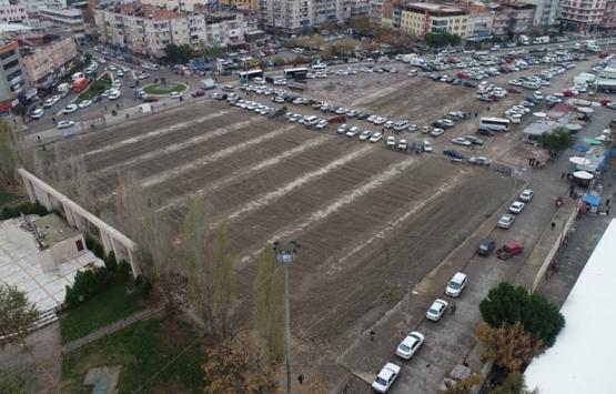 Manisa Salihli'de yıkılan pazar yerinde kültür merkezi yükselecek!