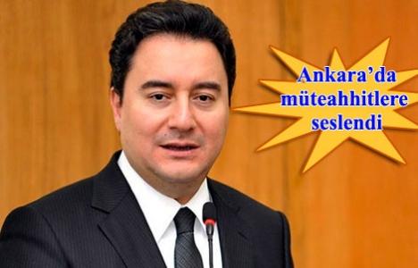Babacan: İmar düzenlemesi yakında Meclis'te olacak
