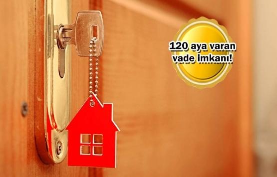 2 bin 565 TL taksitle ev sahibi olma fırsatı!