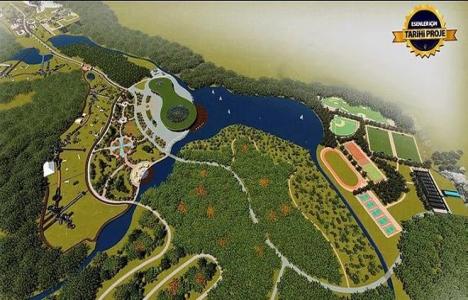Esenler Şehir Parkı'nın inşaatında 100 bin kişi çalışacak!