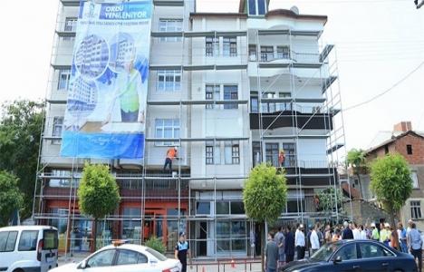 Fatsa'daki 168 binada