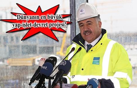 İstanbul Yeni Havalimanı'nın proje alanı San Marino'dan büyük!