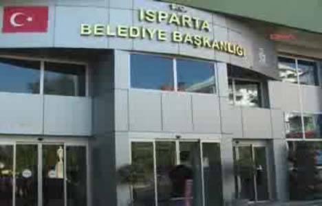 Isparta Belediyesi'nin gayrimenkullerine haciz konuldu!