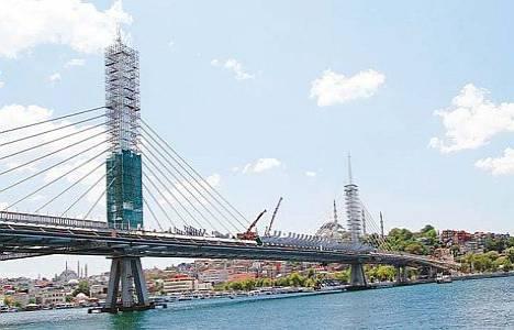 Haliç Metro Köprüsü konutlara yaradı!