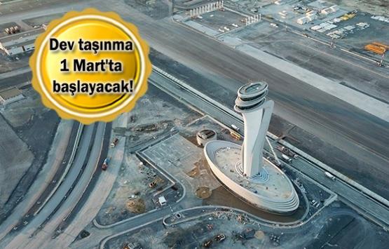 İstanbul Havalimanı'na taşınma tarihleri dünyaya duyuruldu!