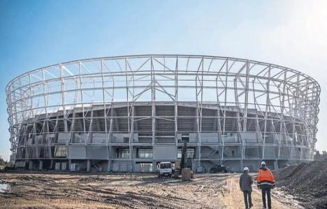 Kozarena Stadı'nın yüzde 75'i tamamlandı!