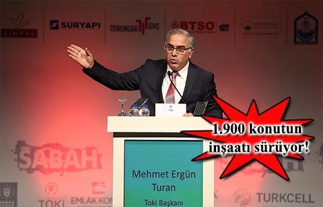 TOKİ 13 yılda 18 bin 613 konut üretip teslim etti!
