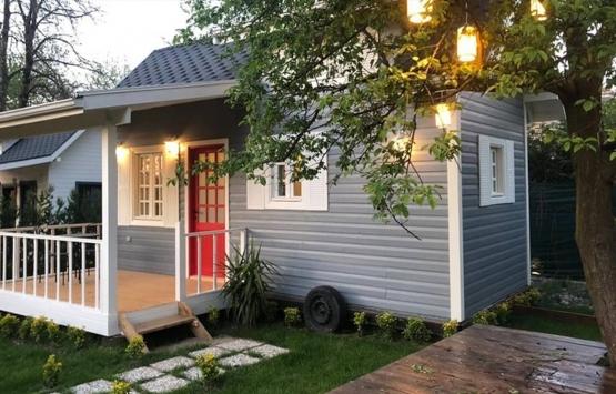 Tekerlekli küçük ev fiyatları 2021!