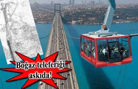 Mecidiyeköy - Zincirlikuyu - Altunizade Çamlıca Teleferik Hattı imar planı askıya çıktı!