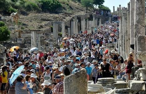 Türkiye'yi 36,8 milyon yabancı ziyaret etti!