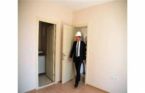 Mesut Akgül Mamak Kentsel Dönüşüm projesinin örnek dairelerini gezdi!