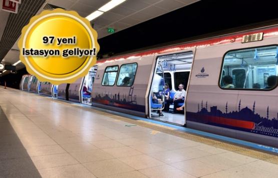 İstanbul'da bu yıl açılacak 5 metro hattı!