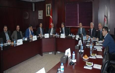 Gaziantep'te inşaat sektöründeki sorunlar rapor haline getirildi!