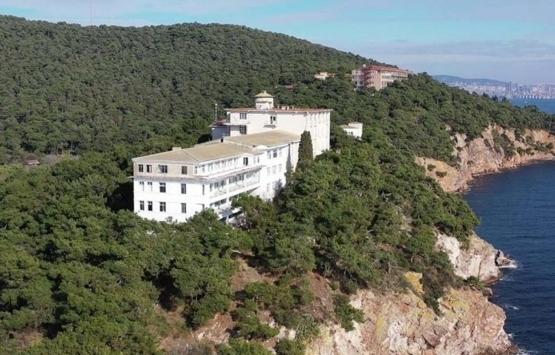 Türkiye'nin ilk pandemi hastanesi Heybeliada Sanatoryumu Diyanet'e devredildi!