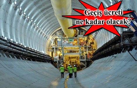 Avrasya Tüneli Aralık ayında hizmete açılacak!