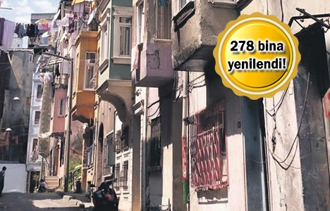 Beyoğlu'nda tarihi binalar